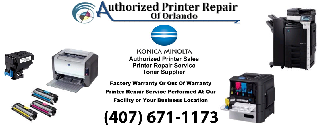 Konica Minolta Printer Repair Service