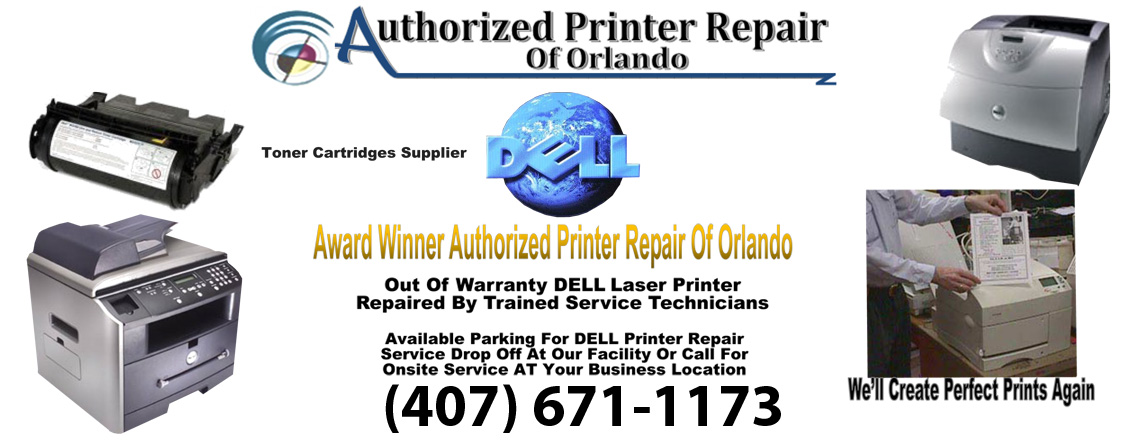 Dell Laser Printer Repair Service